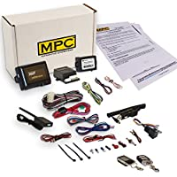 MPC Complete 2 Way LCD Remote Start With Keyless Entry Kit For 2005 Mercury Grand Marquis - Includes Bypass