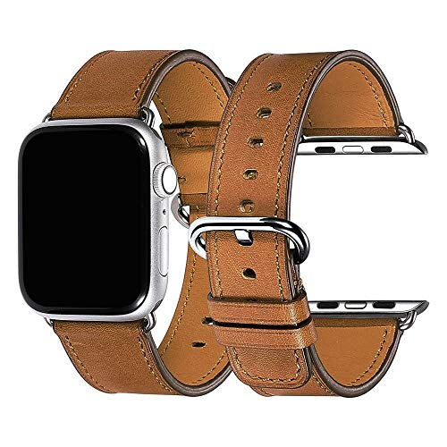 """Watch Band Compatible with Apple Watch Band 38mm 40mm 42mm 44mm Fit The Wrist 6.4""""-7.9"""