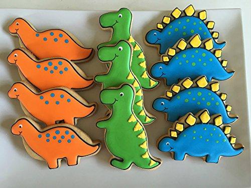 Keniao Dinosaur Cookie Cutters For Kids 6 Piece