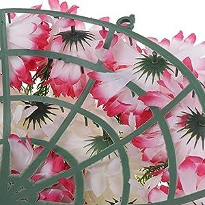 Baoblaze Artificial Handcraft Carnation Flower Arrangements in Grave Cemetery Wreath Flower 5