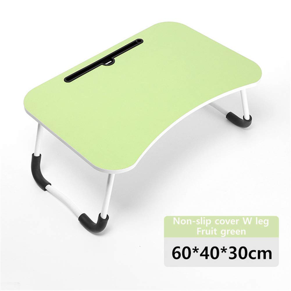 MAMASAM Computer Desk Student Bedroom Desk Folding Table Multifunctional Portable Table Fashion Bedroom Furniture,D