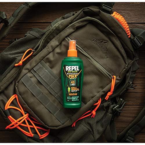 Repel Insect Repellent Sportsmen Max Formula Spray Pump 40% DEET, 2/6-Ounce by Repel (Image #3)