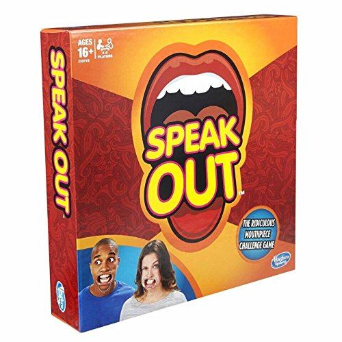 Speak Out Game, the Hilarious Adult Phrase Card Game, Mouth Guard Challenge Game,Family Party Game,Top Rated Toys