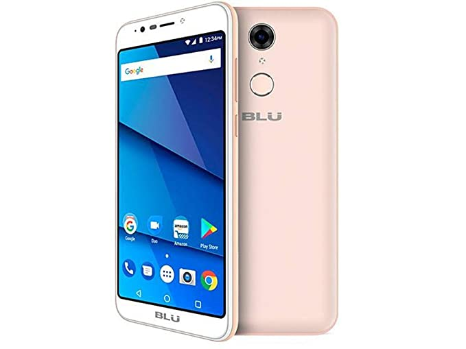 newest d7d26 64e90 BLU Studio View XL S790Q 16GB Unlocked GSM Dual-SIM Android Phone w/ 13MP  Camera - Champagne