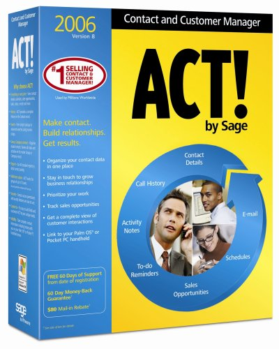 ACT! 2006 Contact and Customer Manager [OLD VERSION]