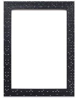 Flat brillante/efecto de espejo/ – Marco de imagen/Photo/Póster de mosaico con una junta de la parte trasera de…