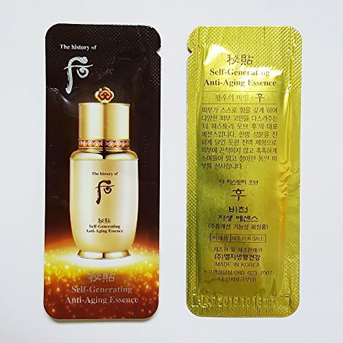 The history of Whoo Bichup Ja Saeng Essence 1ml x 40pcs Sample Self-Generating Anti-Aging Essence