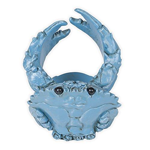 Blue Crab Nautical 5 Inch Wine Bottle Holder