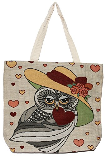 Owl Hippie Bag Bohemian Handle O102 Big Handbag Size Tote Top Shoulder rq5rxEdfw