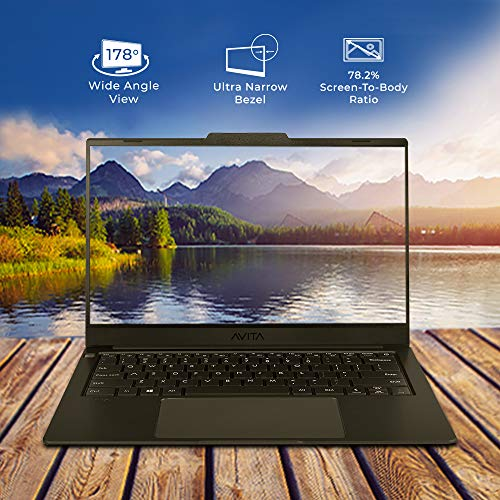 AVITA LIBER V14 NS14A8INF561-MB 14-inch Laptop (Core i5-10210U/8GB/512GB SSD/FHD Display/Windows 10 Home/Intel UHD Graphics 620), Matt Black