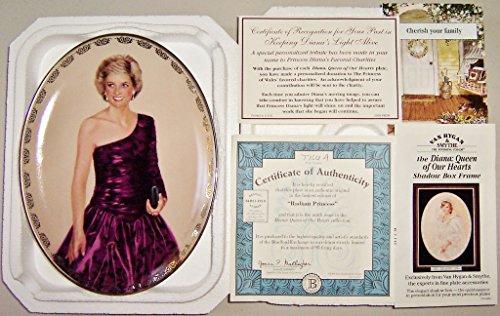 Princess Diana Pocelain Plate -- 1998 Bradford Exchange --