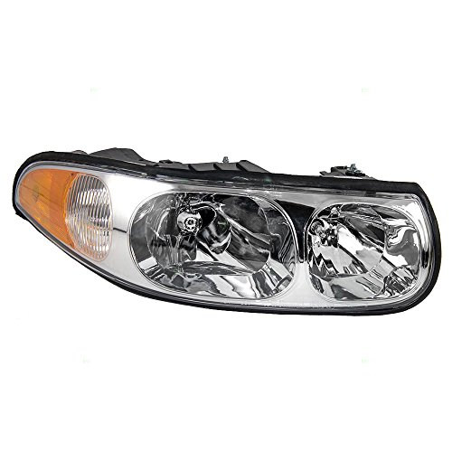 Passengers Headlight Headlamp Replacement for Buick 19245370 - Buick Lesabre Headlight Assembly