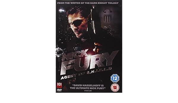 Nick Fury: Agent of S.H.I.E.L.D DVD 1998 by David Hasselhoff: Amazon.es: David Hasselhoff, unknown: Cine y Series TV