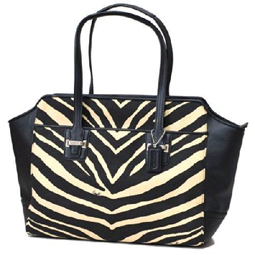 Zebra Print Hobo (COACH Taylor Zebra Print Carry All -)