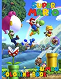 Super Mario Coloring Book: Super Jumbo Book for Kids Aged 3 - 10