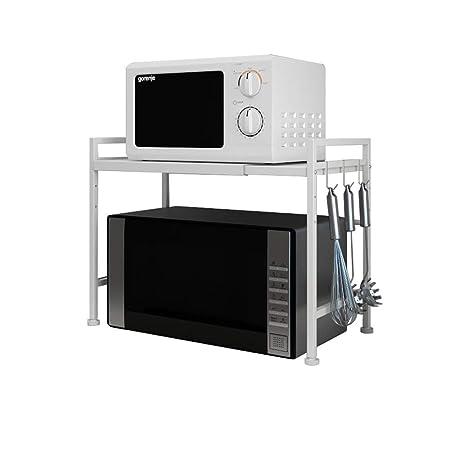 Bastidores de cocina Horno de microondas retráctil Horno de ...