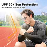 Rescoto 2 Pairs UV Protection Cooling Arm Sleeves