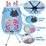 Super Deal Electric Portable Clothes Dryer -Ventless Folding...