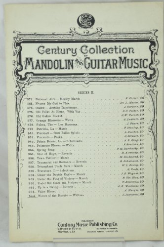 - CENTURY COLLECTION * MANDOLIN AND GUITAR MUSIC * SERIES 2