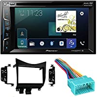 Pioneer 6.2 2 DIN DVD Bluetooth Apple Car play+ Metra 95-7862 Double DIN Installation Dash Kit for Honda Accord
