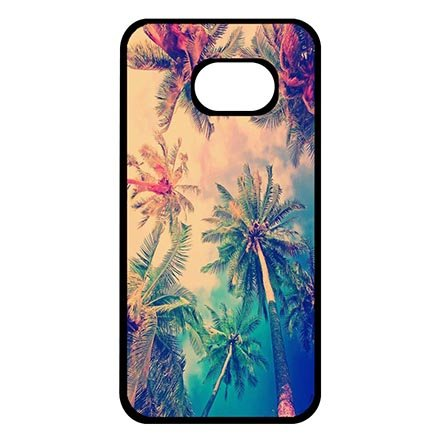 Samsung Galaxy S7 Hard Shell Casing for Coconut Trees Beach Landscape Hard Plastic Case Protector Funny For Teens