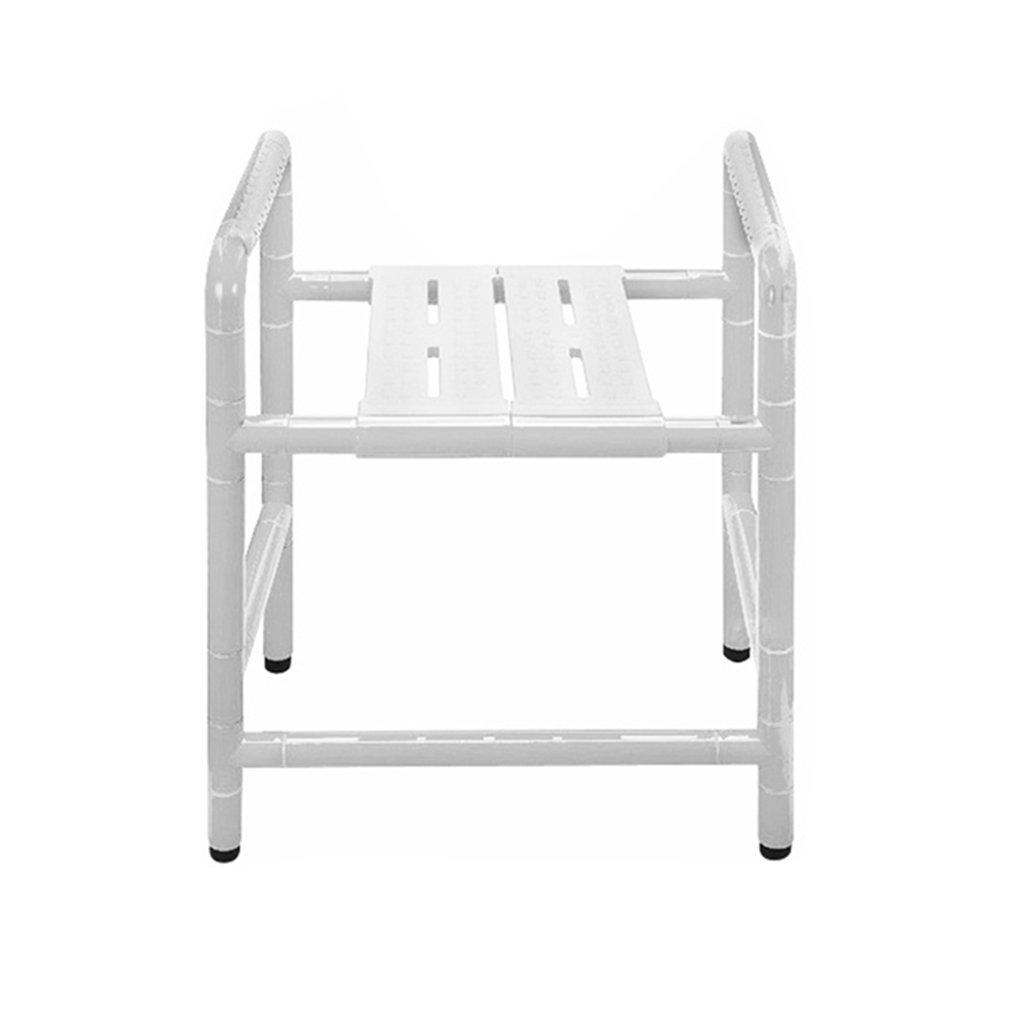 週間売れ筋 シャワー/バスタブスツール椅子シャワーシートスツール高齢者 300kg(50cm)/障害者/妊婦用アンチスリップマットシャワーチェアヘビーデューティホワイトマックス。 300kg(50cm) B07F673R2P B07F673R2P, UJ-FACTORY:ae53e4ce --- rosecityshine.com