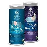 Baby Colic Relief Tea- Bundle Of Babies' Magic Tea & Baby Sleep Tea- USDA Organic