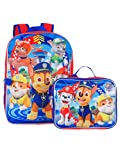 Paw Patrol Boy's 16' Backpack With Detachable Matching Lunch Box