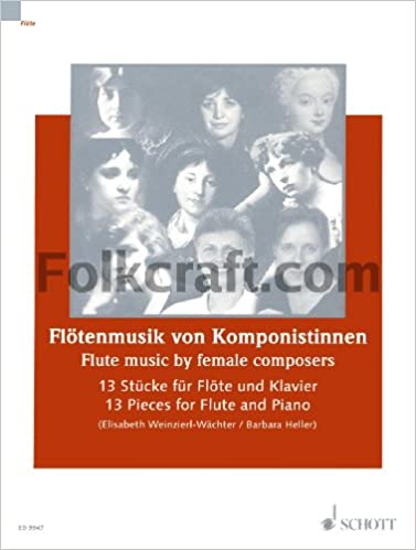 Amazon com: Flute Music By Female Composers - 13 Pieces For