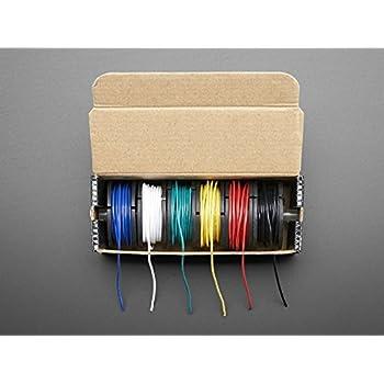 Adafruit Hook-up Wire Spool Set - 22AWG Stranded-Core - 6 x 25ft [ADA3111]