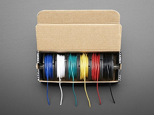 - Adafruit Hook-up Wire Spool Set - 22AWG Stranded-Core - 6 x 25ft [ADA3111]