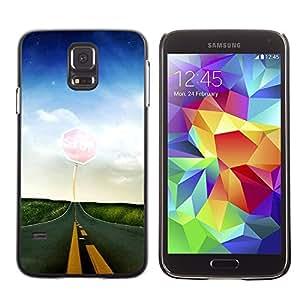 "For Samsung Galaxy S5 , S-type Naturaleza Hermosa Forrest Verde 65"" - Arte & diseño plástico duro Fundas Cover Cubre Hard Case Cover"