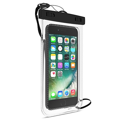 Rainbow in lights Universal Waterproof Case, Cellphone Dry Bag Pouch for iPhone 7 6s 6 Plus, SE 5s 5c 5, Galaxy s8 s7 s6 edge, Note 5 4, LG G6 G5, HTC 10