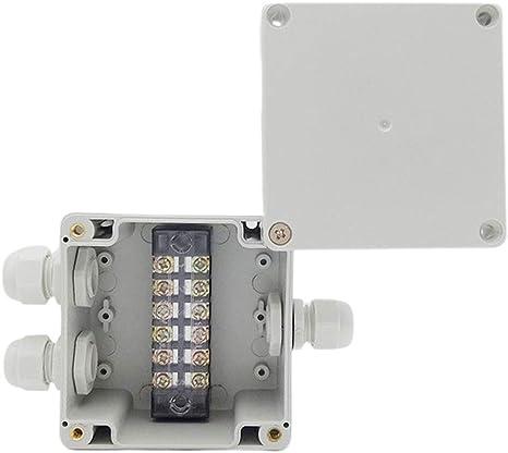 qianqian56 Bo/îtier /étanche Bo/îte de jonction /électrique Connecteur C/âble Terminal