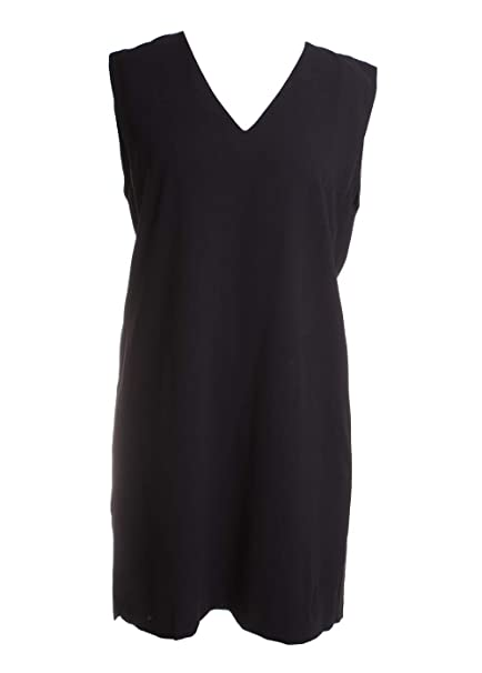 Amazon Alice Olivia Carita Tie Shift Dress Black Size 8