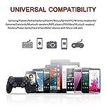 Yosou-Cavo-Micro-USB-2-Pezzi-2M-Cavo-USB-Micro-USB-Nylon-Intrecciato-Cavo-Android-Trasferimento-Dati-e-Ricarica-Rapida-per-Samsung-Galaxy-Huawei-Sony-Nexus-HTC-LG-PS4-e-Altri-Rosso