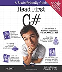 Head First C# is a complete learning experience for learning how to program with C#, XAML, the .NET Framework, and Visual Studio. Fun and highly visual, this introduction to C# is designed to keep you engaged and entertained f...