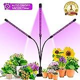 Grow Light, Ankace 60W Tri Head Timing 60 LED 5