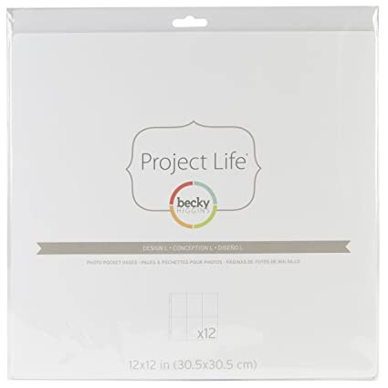 Becky Higgins Project Life Photo Pocket Pages pack of 12 Small Variety Pack 6