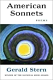 American Sonnets, Gerald Stern, 0393324966
