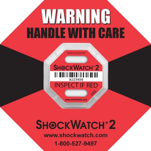 Wirkungsindikator Shockwatch 2-50G 20 St/ück
