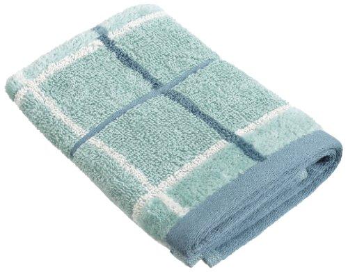 Nautica Plaid Towels Cotton Seamist