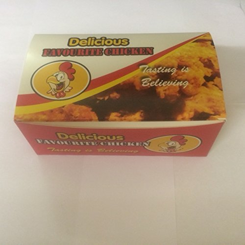 177mm X 103mm X 70mm 300 x Medium Chicken Box FC1 free P/&P on all products