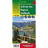 Freytag Berndt Wanderkarten, WK 382, Zell am See - Kaprun - Saalbach - Maßstab 1:50.000