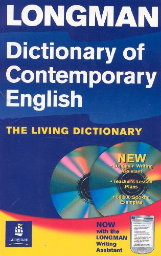 Longman Dictionary of Contemporary English (paperback) with CD-ROM (4th Edition)