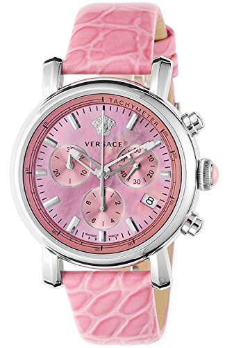 VERSACE-watch-DAY-GLAM-Pink-Pearl-dial-Chronograph-Date-VLB030014-Ladies