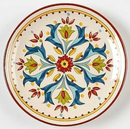 Bobby Flay Sevilla Canape Plate Fine China Dinnerware  sc 1 st  Amazon.com & Amazon.com | Bobby Flay Sevilla Canape Plate Fine China Dinnerware ...