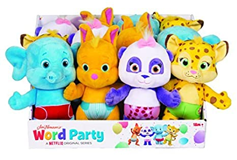 Word Party 7 Bailey Ba de Peluche Peluche: Amazon.es: Juguetes y ...