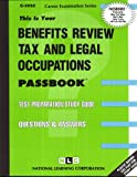Benefits Review, Tax and Legal Occupations, Jack Rudman, 0837335523