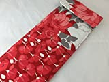 Curling Iron Holder or Flat Iron Case - Riley Blake Desert Bloom Main in Red